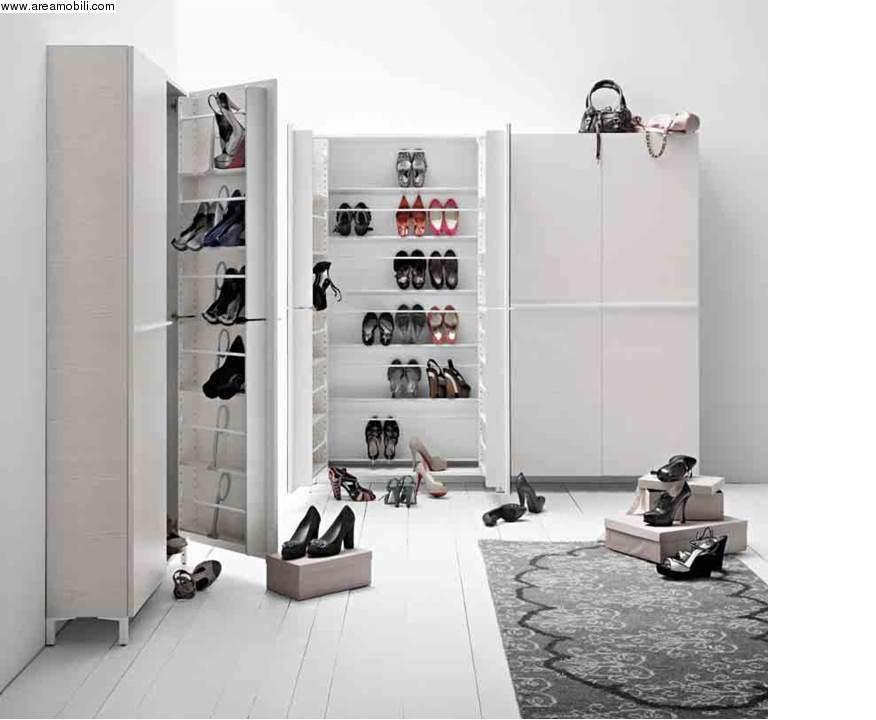 Scarpiera capienza 50 paia di scarpe - Mobile per scarpe ...