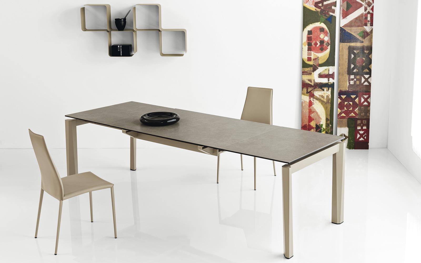 Tavolo calligaris esteso piano ceramica for Offerte tavoli calligaris