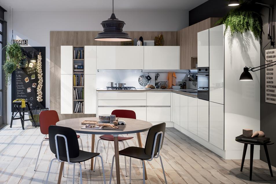 Cucina rossa a solo euro 5765,00 Veneta Cucine