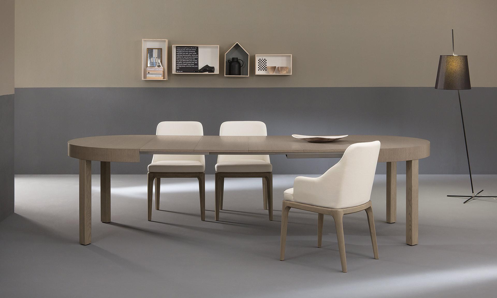 tavolo modello zed riflessi