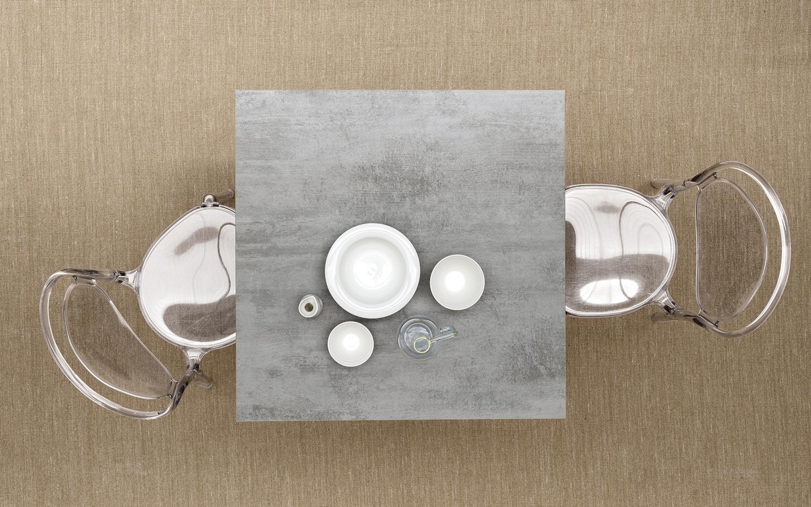 Tavolo calligaris dot quadrato for Tavolo quadrato calligaris