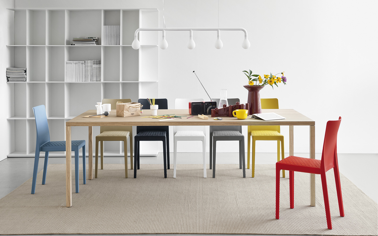 Tavolo Calligaris Heron Wood natural