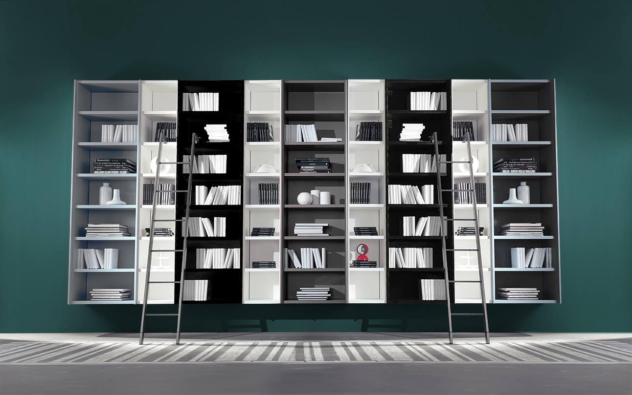 Libreria componibile con scala Fimar Mobili