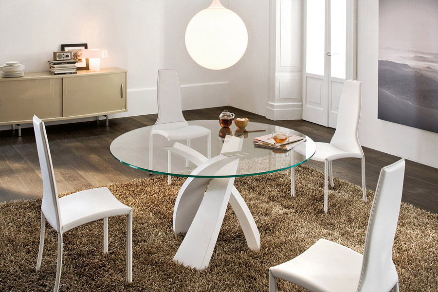 Tavolo eliseo tonin casa - Table design belgique ...