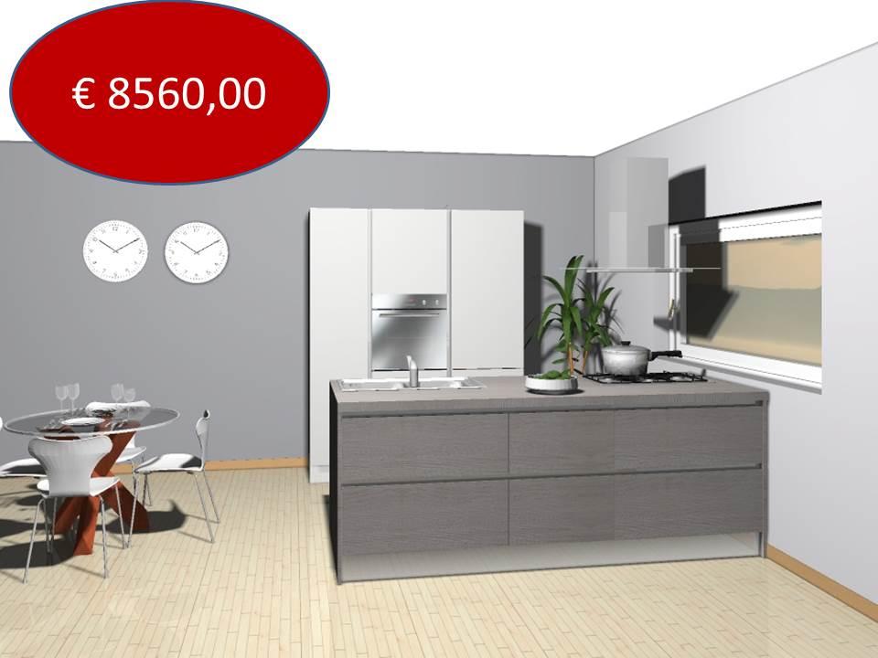 Veneta cucine Oyster costo euro 8500,00