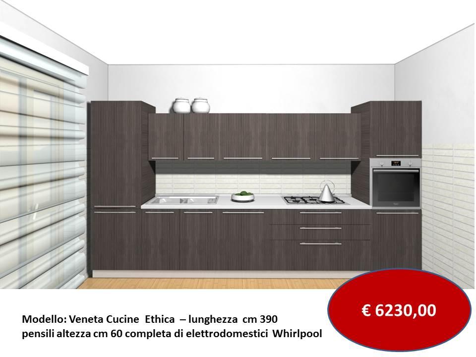 Veneta Cucine Extra Up.Cucina Modello Ethica Finitura Decorativo Veneta Cucine