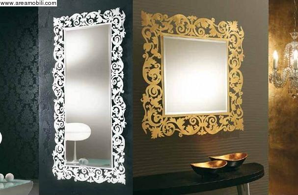 RIFLESSI SRL ::: Areamobili ::: Cod.21068 Specchio Romantico ...