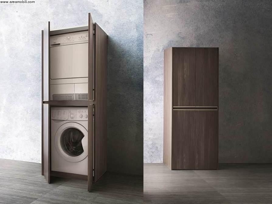 Lavatrice e asciugatrice for Mobile per lavatrice e asciugatrice da esterno